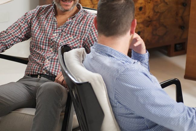 In/Out - Chat in a Chair: Nicholas & Alistair