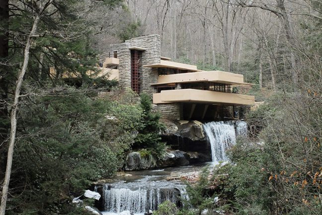 In Out - OUT/ABOUT: Frank Lloyd Wright's 'Fallingwater'
