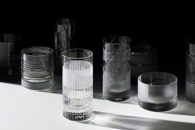 In/Out - OUT/ABOUT: MILAN 2014 - ELEMENTS GLASSWARE BY SCHOLTEN & BAIJINGS FOR J. HILL'S STANDARD