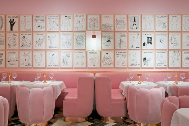 In/Out- OUT/ABOUT: India Mahdavi and David Shrigley at Sketch